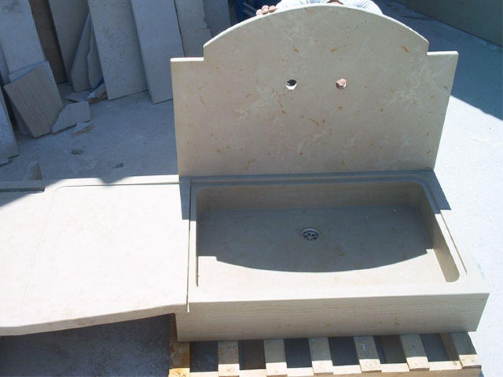 Lavandino da esterno 2 gigante marmi specialisti nella - Lavandino da esterno ...